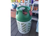 BP 10kg gas canister bottle for BBQs 1/3 full