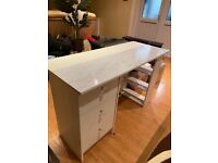 GREAT CONDITION Malibu DESK in white.