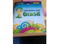 panini brazil word cup sticker album complete