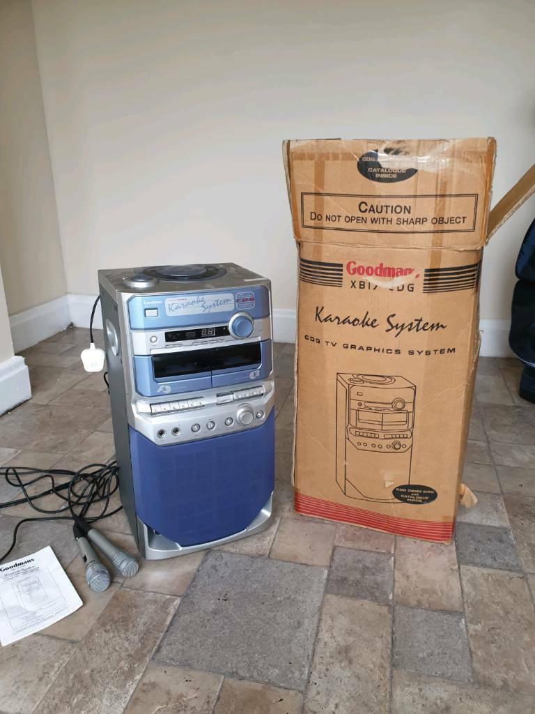 Goodmans Karaoke Machine | in Stoke-on-Trent, Staffordshire | Gumtree