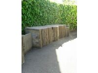 Concrete paving slabs for sale, 600mm wide x 750mm long, 50mm deep