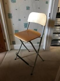 Chair stool kitchen foldable