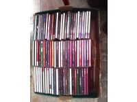 AROUND 70 CD ALBUMS PLUS A FEW SINGLES ALL TYPES OF MUSIC NO ROCK INCLUDED