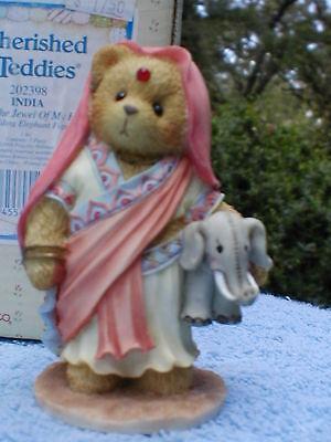 Rajul-You're Jewel Of My Heart-NIB-Cherished Teddies