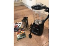Cooks soup maker with accessories instructions and book