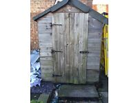 Free 6x4 shed