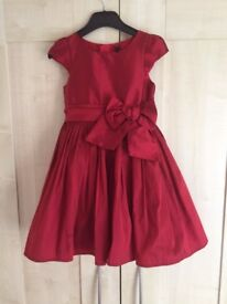 Girls Next Red Party Dress age 6 years
