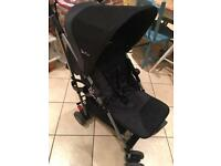 Silver cross Pop stroller pram black & grey