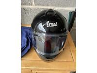 Arai motorcycle helmet size small