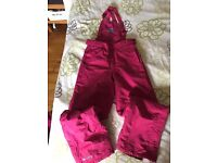 Cerise Ski Suit - Teen Girl / Small Ladies Parallel Brand Size 14/15 (Girls) Lady Size 8