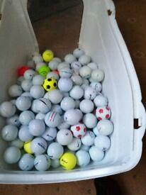 170 golf balls