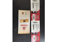Rugby challenge cup final tickets x 2 VIP Wembley 2017