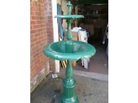Victorian Style Cast Iron Water Fountain