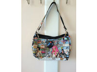 Girl's hand-shoulder bag, nearly new