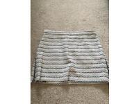 Topshop mini skirt size 10