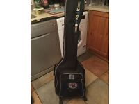 Tanglewood Electro Acoustic Guitar as new
