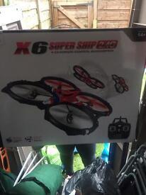 Super ship remote control quadcopter