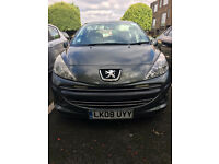 2008 Peugeot 207 Petrol 1.4L Cheap Insurance Grey VERY LOW MILES