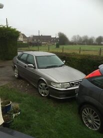 Saab 9-3 2.2 Diesel 5 Door Hatchback Manual Grey Spares or Repair