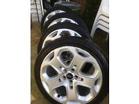 "Genuine 18"" Ford Alloys fit Mk IV Mondeo (2007 on) or similar"