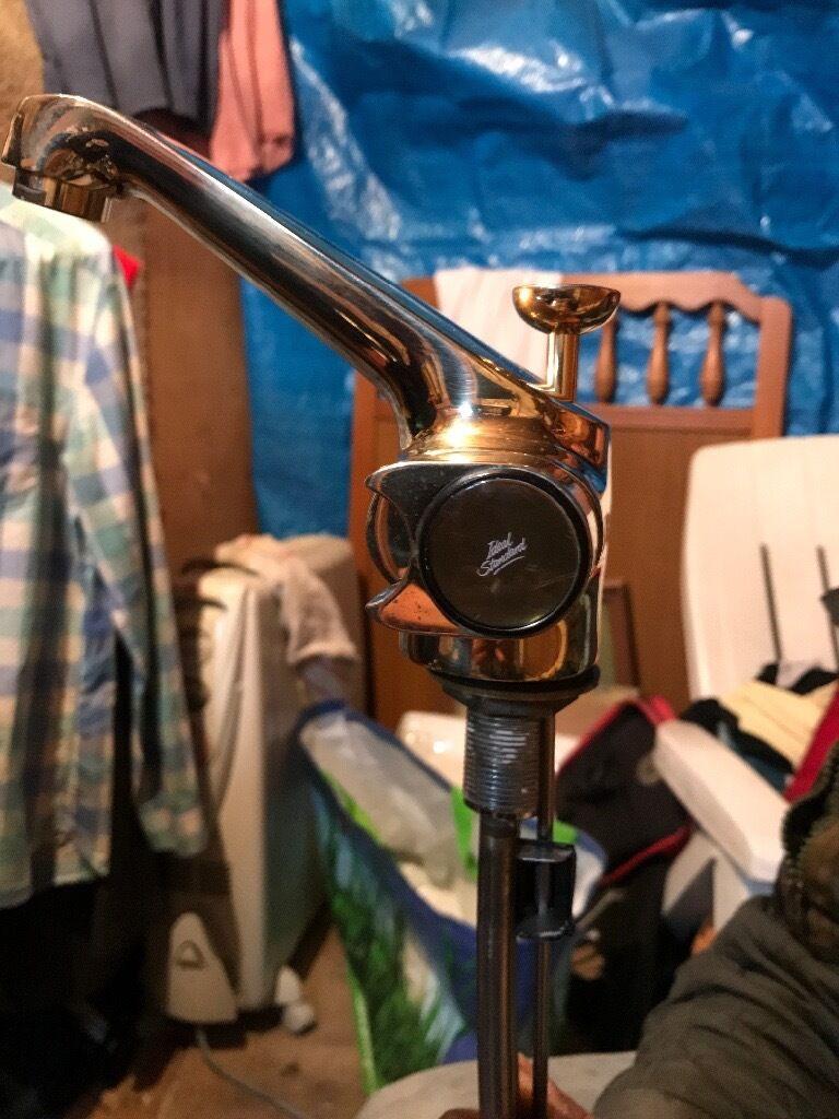 Rare solid brass ideal standard tap mixer