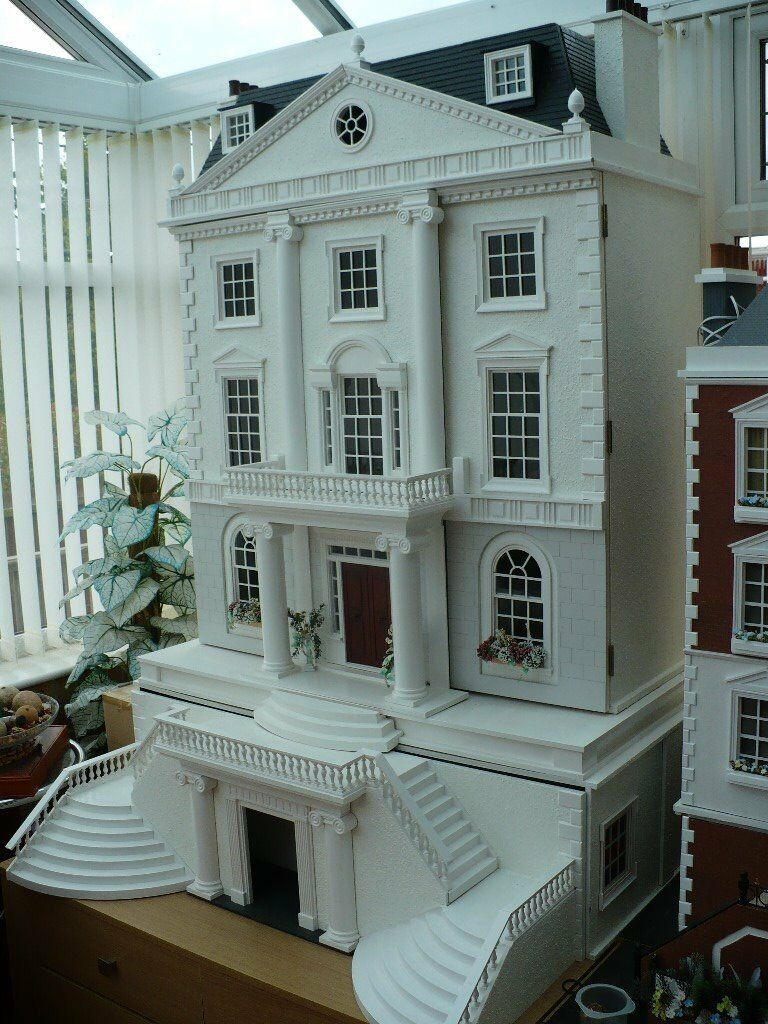 GROSVENOR HALL & BASEMENT – DOLLS HOUSE EMPORIUM DOLLS HOUSE