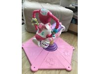PINK ZEBRA JUMPEROO