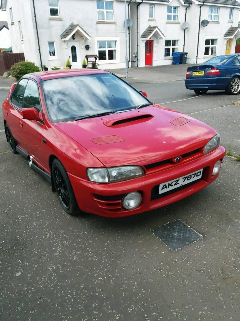 1994 (1st registered in UK 1998) subaru impretza (classic car) | in ...