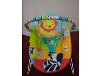 Bright Starts Baby Bouncer-almost new-for sale