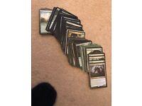 Massive Magic the gathering MTG collection and Elves EDH deck - Modern / Commander / standard