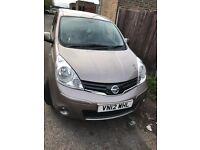 Low Mileage Nissan Note 2012 N-TEC + Sat Nav Parking Sensors