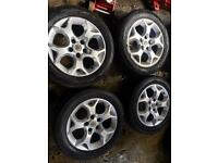 "16"" GENUINE VAUXHALL ASTRA VECTRA ZAFIRA SRI ALLOY WHEELS SET OF 4"