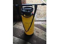 Portable power washer spray bottle