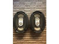 "6"" x 9"" car speakers infinity kappa series"