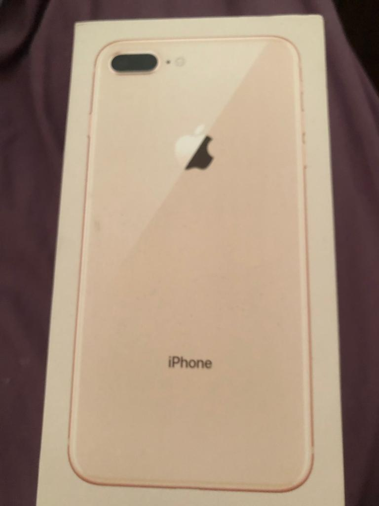 newest dca56 4cab3 iPhone 8 Plus 64gb gold all boxed Vodafone small crack | in Grimsby,  Lincolnshire | Gumtree