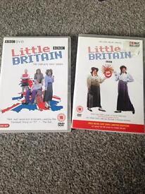 Little Britain dvds. 50p each
