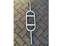 TRICEP WEIGHTS BAR WITH SPRING COLLARS