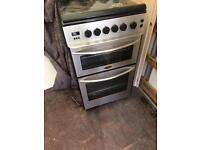 Belling glass top gas cooker