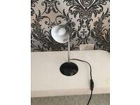 Angle poise reading / desk lamp