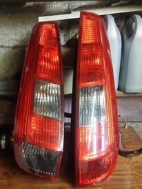 fiesta mk6 rear lights