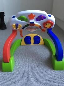 Chicco baby duo gym kick & play toy