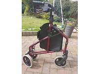 Mobility Walker with brakes