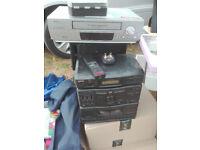 Santo Mini HiFi with Cassette plus VCR