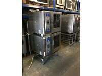 Lincat SCC 61 OVEN made by RATIONAL , stacked 2x 6 grids 3 or 1 phase year 2011