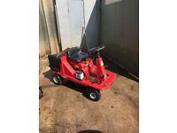 Ride on mower MTD 404