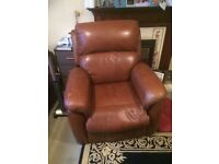 Riser Recliner Chair in Leather finish