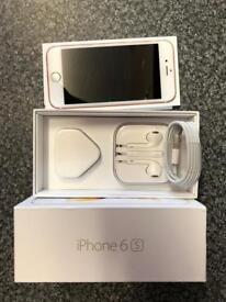 IPhone 6s 64gb Rose gold unlocked near mint