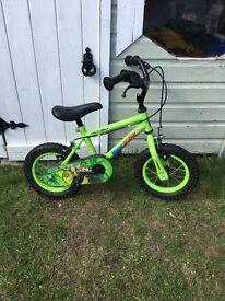 """Kids Marvin monkey 12"""" bike"""