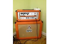 Orange TH-30 and a matching 2x12 extention cabinet