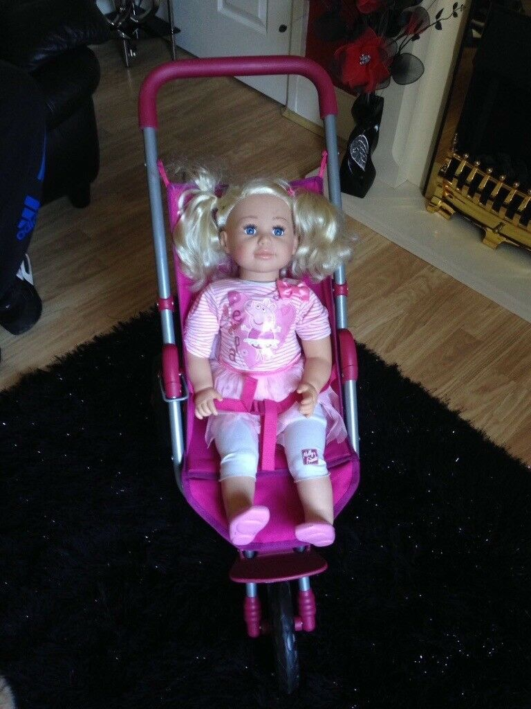 Molly and friends doll and pushchair only £20